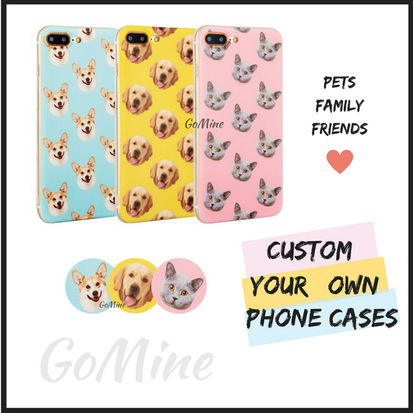 Customized Pet Phone Cases (iPhone, Samsung)
