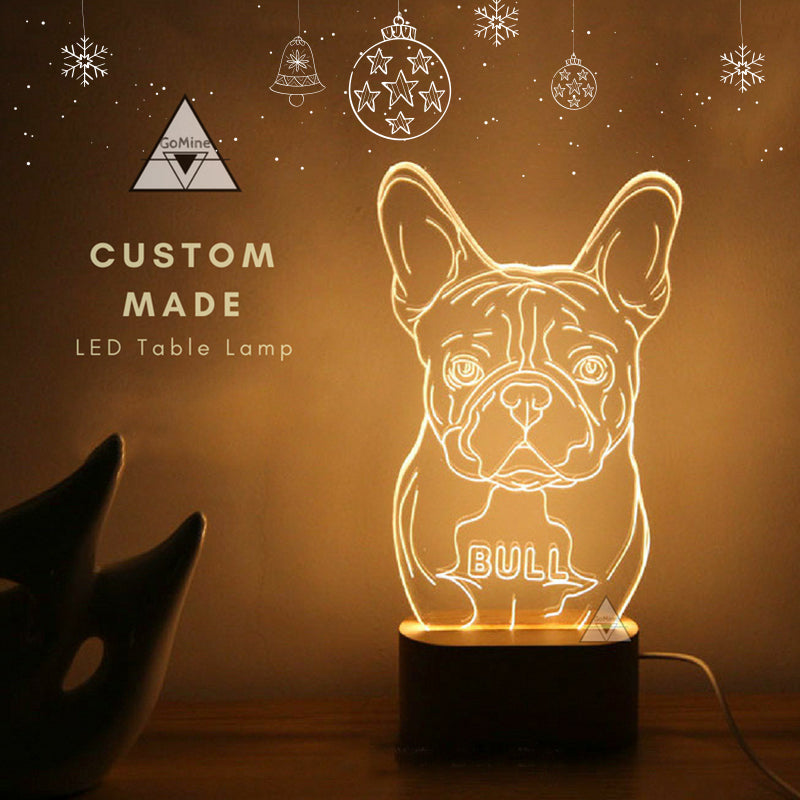 Customized Pet Table Lamp