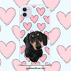 Custom Dog Portrait Phone Case - GoMine