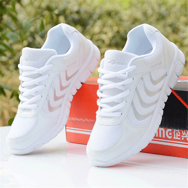 Breathable Women Running Light Sneakers