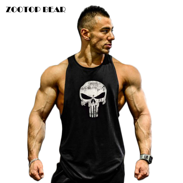 Men Bodybuilding Fitness Tank Top