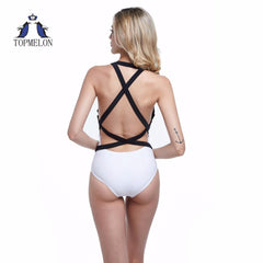 Backless one piece sexy swimsuit