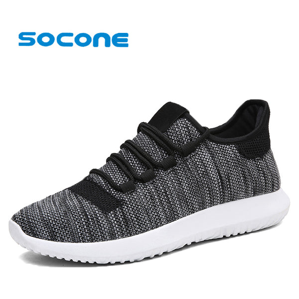 Men Anti-slip Light Weight Walking Shoes
