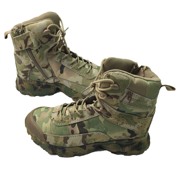 Jungle Camouflage Tactical Combat Boots