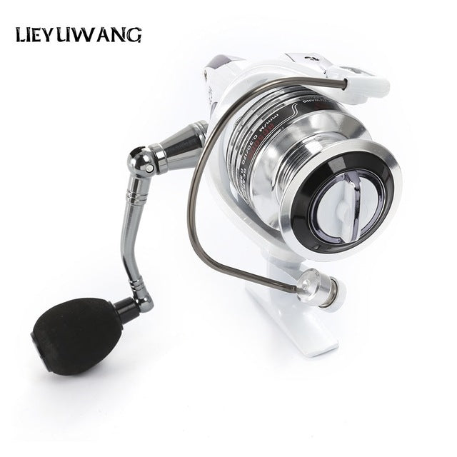 13 + 1BB Gear Ratio Up to 5.2:1 Spinning Fishing Reel