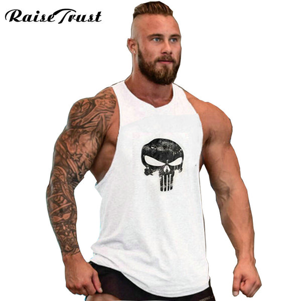 Cotton Men Bodybuilding Tank Top