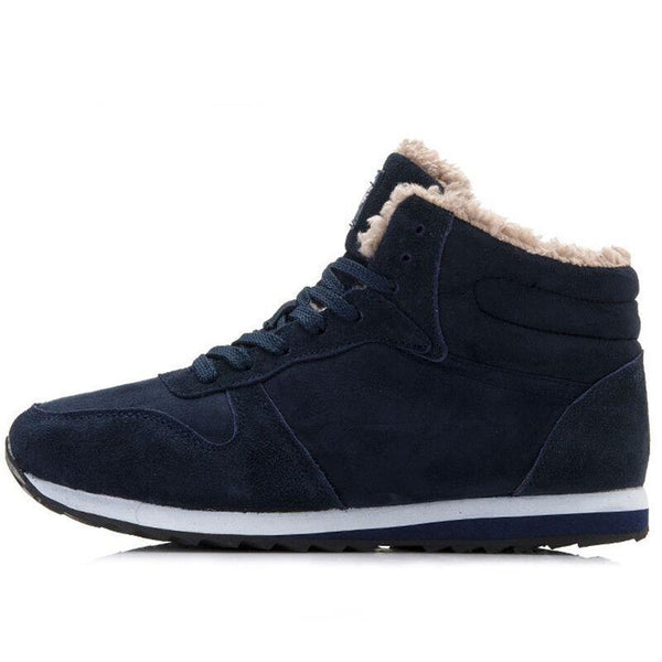 Genuine Leather Men Women Sneakers