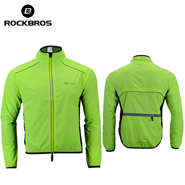 Windproof Reflective Quick Dry Jacket