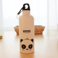 500ML Cute Cartoon Pattern Aluminum Water Bottle