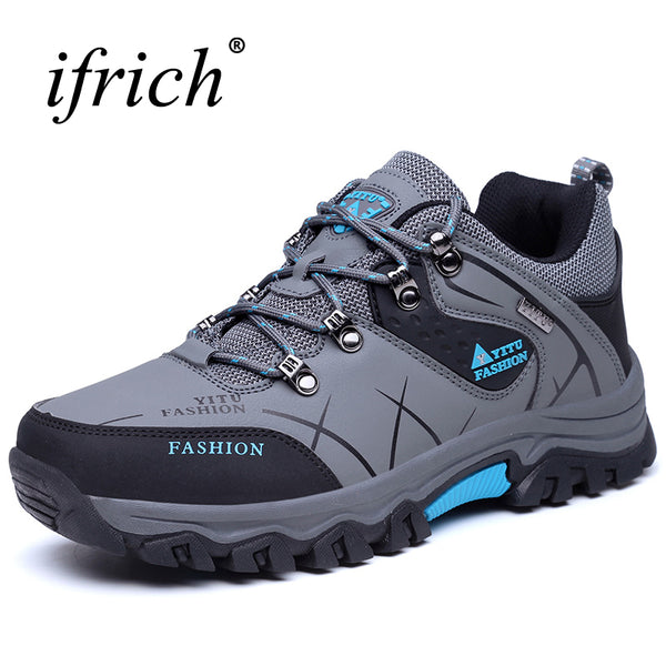 New Leather Hiking Shoes