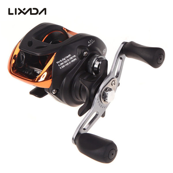 10+1BB Left Right Hand Baitcasting Fishing Reel
