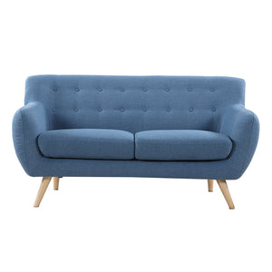 Dolce 3 seater fabric sofa