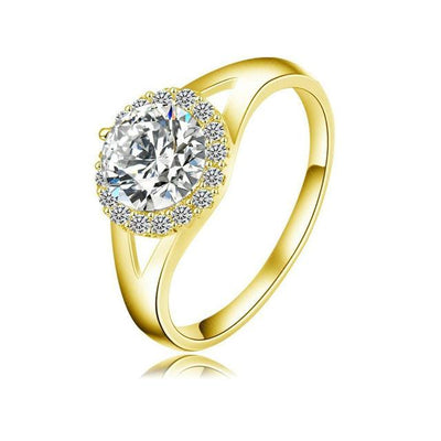 Elegant Crystal Studded Rings for Women
