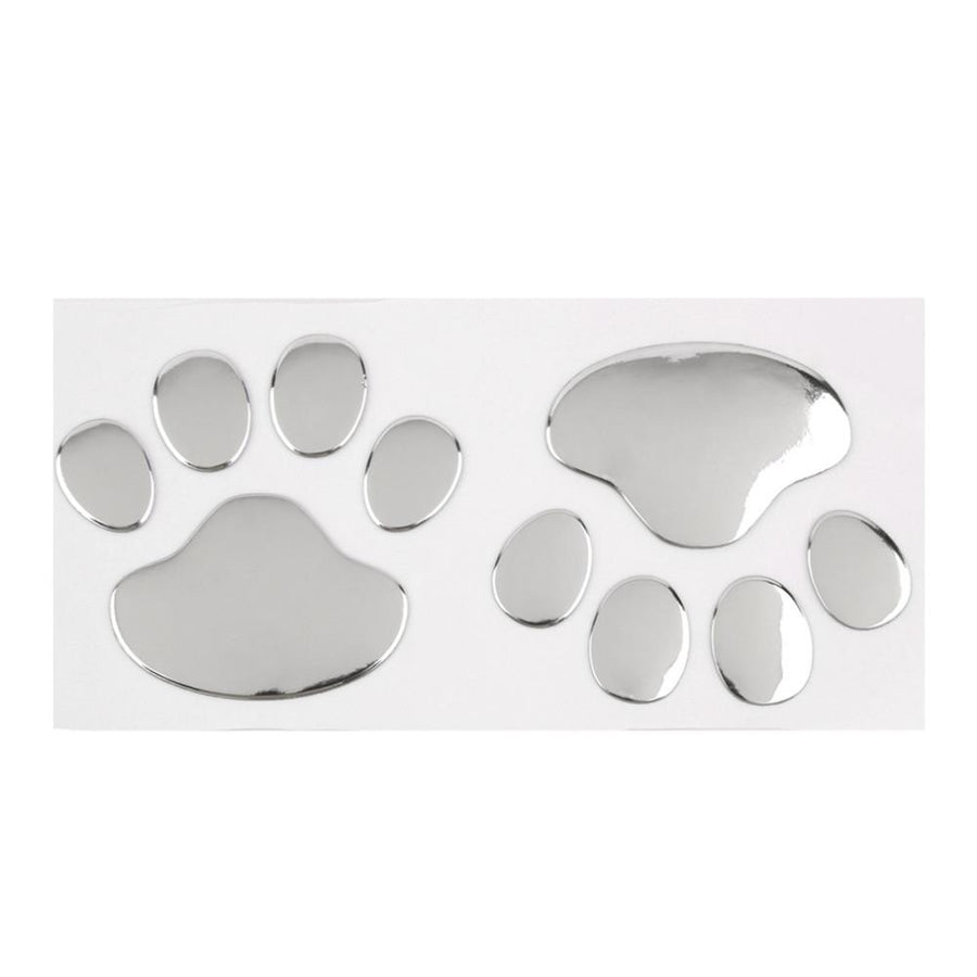 Cool Dog Paw Print 3D Car Sticker - FREE JUST PAY SHIPPING