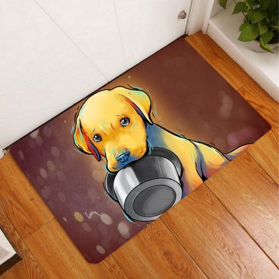 Amazingly Cute Floor Mats With Puppies (Not Available in Stores)-Home Decor-DogBlabShop