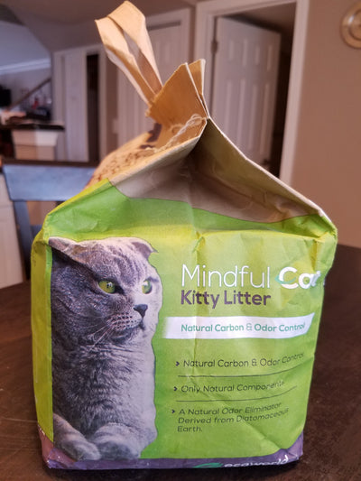 Mindful Cat Kitty Litter 10 Lbs Bag
