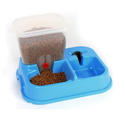Automatic Dog Food and Water Dispenser Bowl for Cats and Dogs