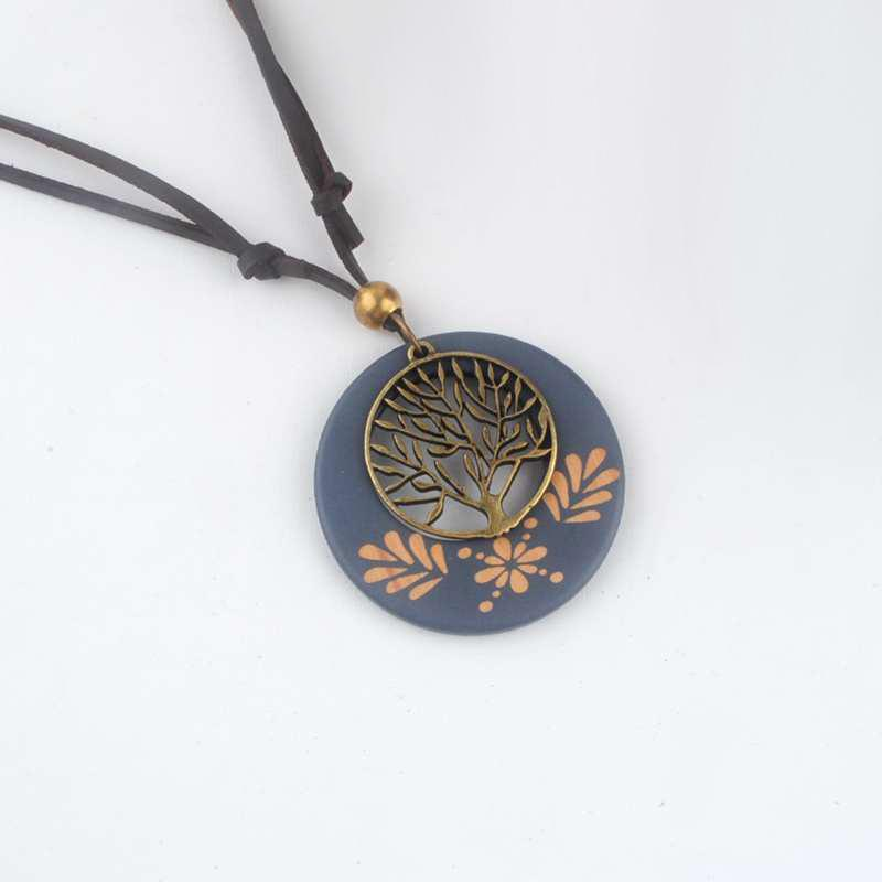 Antique wooden tree pendants necklaces for women dogblabshop antique wooden tree pendants necklaces for women aloadofball Gallery
