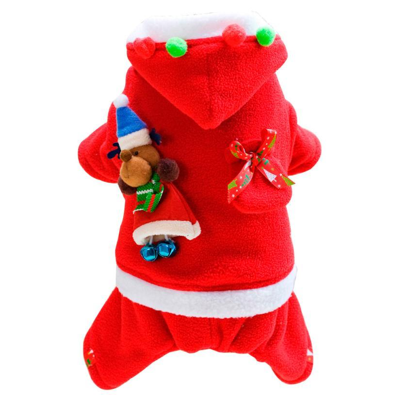 Cute Santa Claus Costume for Dogs