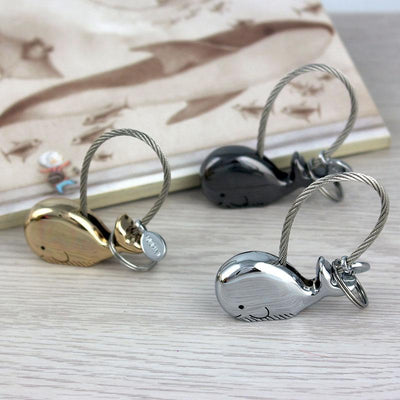 3D Whale Key Chain/Bag Charm