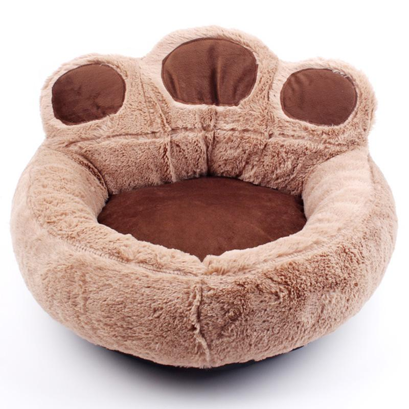 Cute and Comfy Paw Print Dog Beds