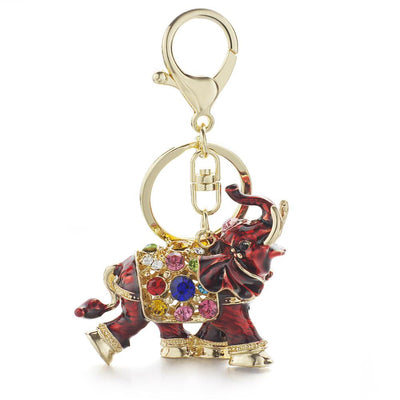 Carnival Elephant Key Chain for Women