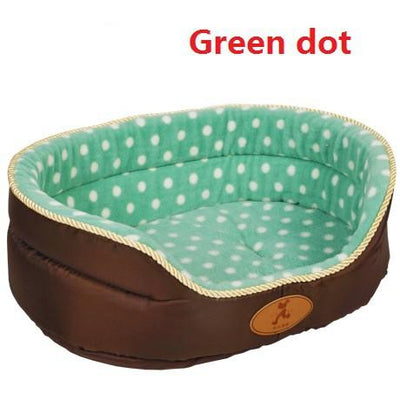Double Sided All Seasons Extra Large Dog Bed  Dog Cat Warm Fleece Bed S-XL - DogBlabShop