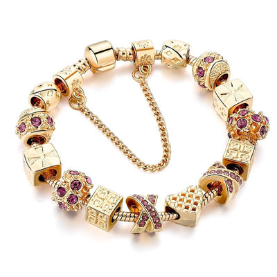 Gold Snake Chain Bracelets for Women