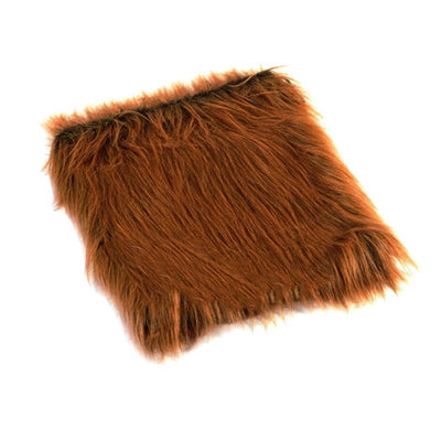 Faux Fur - Dog Fancy Dress Up Costume - Dog Halloween Lion Wig For Large Dogs-Category_Dog Accessories-DogBlabShop