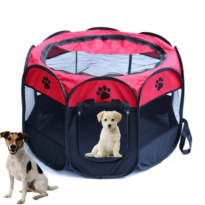 Octagonal Folding Dog House Tent-Pet Products-DogBlabShop