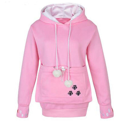 The Cuddle Hoodie-Hoodies & Sweatshirts-DogBlabShop