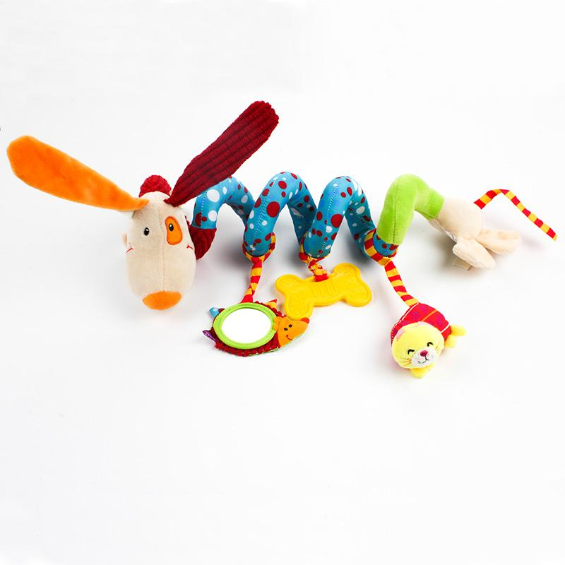 Educational Dog Rattle Toys for Babies