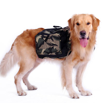 Large Dog Carrier Bag Travel Backpack Saddle - For Big Dogs-Pet Carrier Bag-DogBlabShop