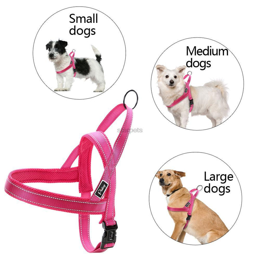 Quick Fit No Pull Reflective Stitching and Padded Dog Harness
