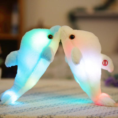 Beautiful LED Plush Bear Dolphin and Dog Toys - DogBlabShop