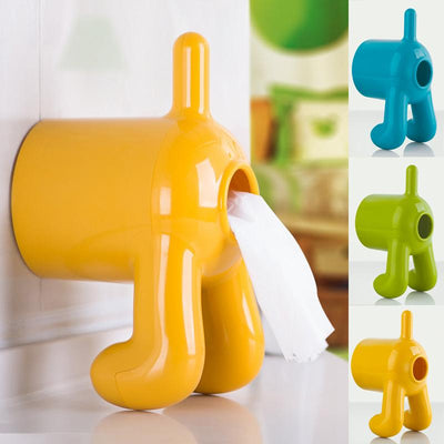 Funny Dog Toilet Paper Holder-Home Decor-DogBlabShop