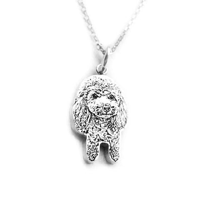 Awesome Customized Silver Engraving From Photo - DogBlabShop