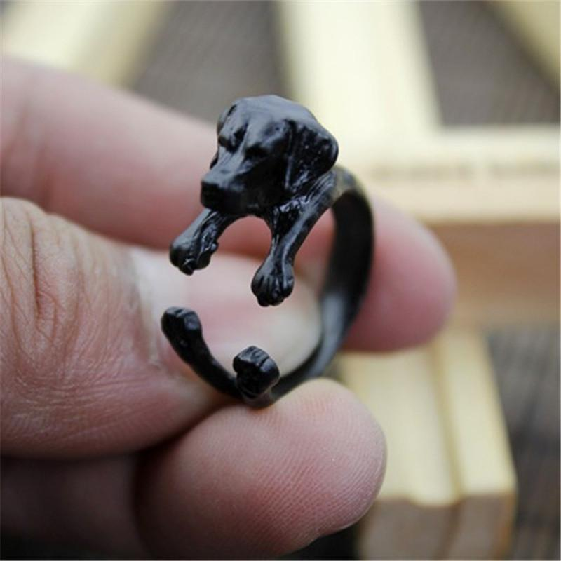 Beautiful Labrador Retriever Adjustable Ring