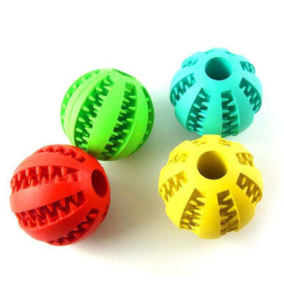 Dog Rubber Ball Chew Toy