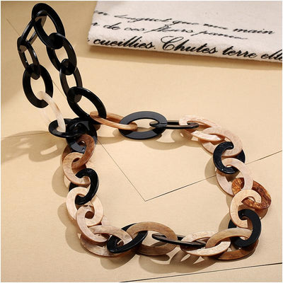 Black And Brown Statement Necklaces for Women