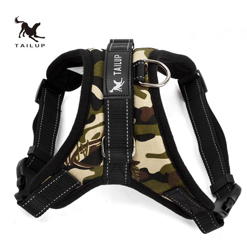 Reflective Dog Harness Large Dog Collar Vest