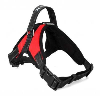 Reflective Dog Harness Large Dog Collar Vest-DogBlabShop