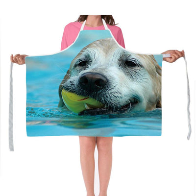 3D Dog Kitchen Aprons - DogBlabShop