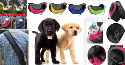 Stylish Pooch Carrier Travel Shoulder Bag + FREE SHIPPING And FREE GIFT(S)-Dog Carriers-DogBlabShop