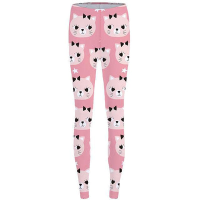 Sexy Leggings in Dogs and Cat Prints-Women's Apparel-DogBlabShop