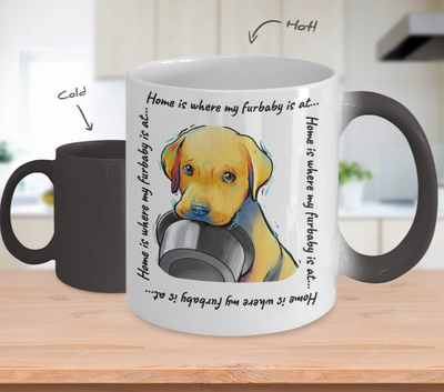 Lab - Home Is Where My Furbaby Is At (Color-Changing Mug)