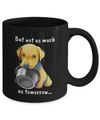 LAb - I Woof You (Black Mug)
