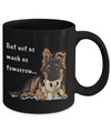 GSD - I Woof You (Black Mug)
