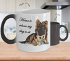 GSD - Home Is Where My Dog Is At (Color Changing Mug)