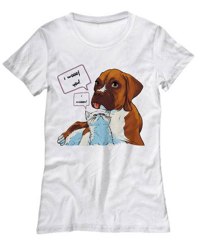 BoxCat - I Woof you I Know (Women's Tee)